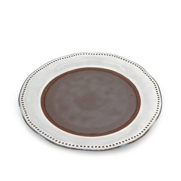 Керамична чиния - голяма