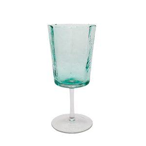 Стъклена чаша със столче